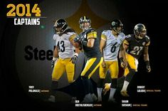 PITTSBURGH STEELERS~ 2014 Captains