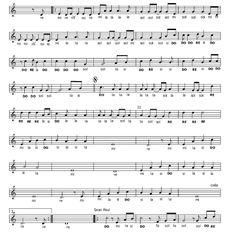 Musica e spartiti gratis per flauto dolce: Sia-Cheap Thrills