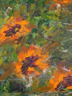 Artwork >> Arturo Arboleda Restrepo >> orange sunflowers  #artwork, #oil, #painting, #masterpiece, #contemporary, #beauty, #extraordinary