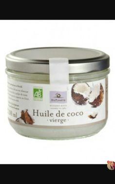 Une huile de coco vierge pour les cheveux
