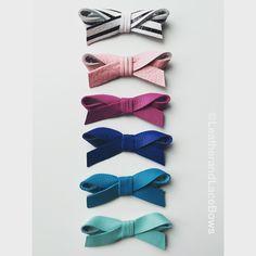 Etsy Leatherandlacebows  Leather hair bows Leather nylon headbands  Handmade diy