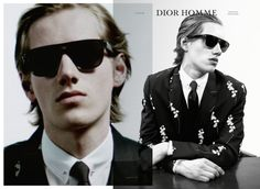By Willy Vanderperre for Dior Homme's Winter 2014 campaign