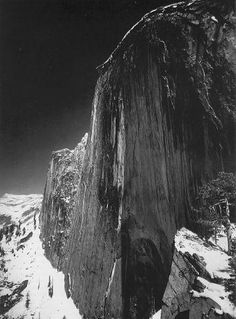 Ansel Adams  Monolith, The Face of Half Dome,  Yosemite Valley, California  c. 1927