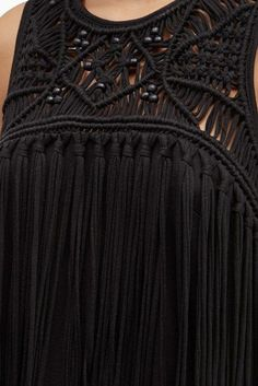 Tiger Lily Macrame Mini Dress | Collections | French Connection