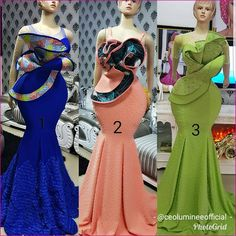 Every fashionable lady would love to be seen in the Latest Ankara Styles. The creativity of Nigerian fashion designers brings hundreds of An. African Fashion Ankara, Latest African Fashion Dresses, African Print Fashion, Africa Fashion, African Lace Styles, African Lace Dresses, Lace Dress Styles, Ankara Dress Styles, African Attire