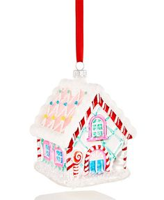 Holiday Lane Gingerbread House Ornament, Only at Macy's | macys.com