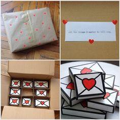 Porque los pequeños detalles marcan la diferencia... Prepara tu regalo para SAN valentin de forma especial... Te enseñamos ideas fáciles u divertidas para que quede espectacular.   regalo packaging envase embalaje  www.anper.es/envolver-regalo-san-valentin/: