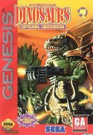 Dinosaurs For Hire Sega Genesis game