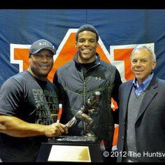 Auburn's Three Heisman Winners! Bo, Cam and Pat. War Eagle!!!!