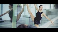 Behind the scene video of a shooting with Olga Stadnikova