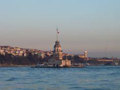 Maiden's Tower, Bosphorus, Istanbul, Turkiye
