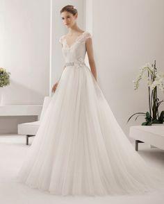 Alma Novias Wedding dress #Wedding