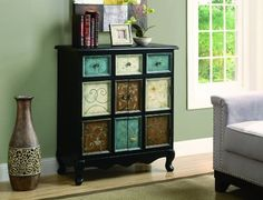 monarch apothecary bombay chest distressed blackmulti color amazoncom altra furniture ryder apothecary
