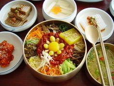 korea,food,비빔밥