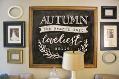clarendon lane: How to DIY Chalkboard Lettering