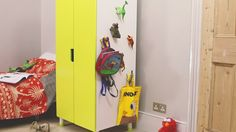 Make awesome kid friendly hooks with Sugru and toys