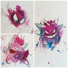 I've got some space free this month that I want to fill including this Thursday and October 24th 10:00 until 1:00 and October 30th 1:30 until 3:00. And I have a few Halloween designs I'd love to tattoo Haunter and Gengar are still available haunter being one of my favourites please email me at radioactivejosie@gmail.com if you're interested and please include Haunter or Gengar in the subject so I don't miss your email. -------------- Also I'm sorry I'm so terrible at emailing everything will…