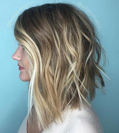 SSSick!!! Shattered Razor Lob and Face Frame Balayage for this Beauty. @kelliannmason Killed it! More