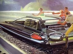 Syd Mead concept design for US Steel, 1961