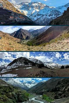Adventure travel in Morocco: Spend 4 days hiking in the High Atlas Mountains at the Kasbah du Toubkal.
