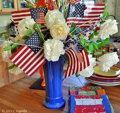 Red, White and Blue!