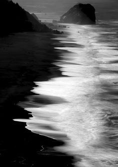There is nothing more beautiful then the waves of the ocean, they kiss the shore and retreat only to come back for more.