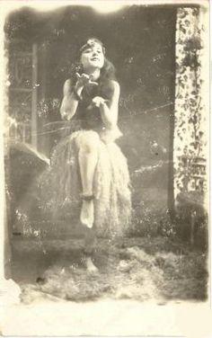 Vintage Hula girl, Hawaii.