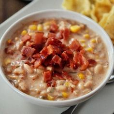 Jalapeno Popper White Bean Chili Recipe