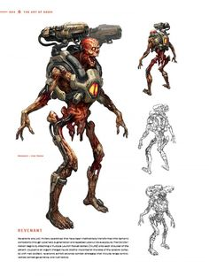 Doom concepts, gallery: http://www.bleedingcool.com/2016/02/09/exclusive-designs-for-new-doom-game-from-dark-horses-art-of-doom-hardcover/ AODOOM INT SAMPLE PG 36