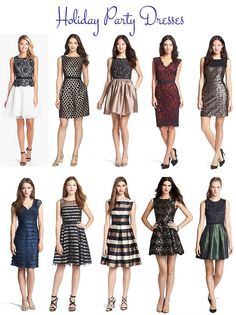 holiday party dresses by kileencheng, via Flickr