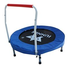 "KLB Sport 36"" Mini Foldable Trampoline with Handrail for ... https://www.amazon.com/dp/B06VX9PB38/ref=cm_sw_r_pi_dp_x_kkrcAbR1S5V2H"