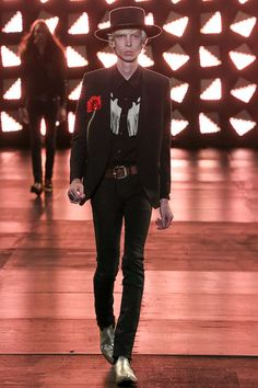 #die for the jacket, fierce! Saint Laurent Spring-Summer 2015 Men's Collection