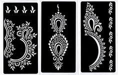 Best price on Zaffron Henna Mehendi Mehndi Stencil Sheets for Eid Ramadan Mehendi Raat or Wedding Parties (Design Pack 5, Set of 6 Sheets)  See details here: http://beautymakeuphub.com/product/zaffron-henna-mehendi-mehndi-stencil-sheets-for-eid-ramadan-mehendi-raat-or-wedding-parties-design-pack-5-set-of-6-sheets/    Truly the best deal for the new Zaffron Henna Mehendi Mehndi Stencil Sheets for Eid Ramadan Mehendi Raat or Wedding Parties (Design Pack 5, Set of 6 Sheets)! Look at at this…