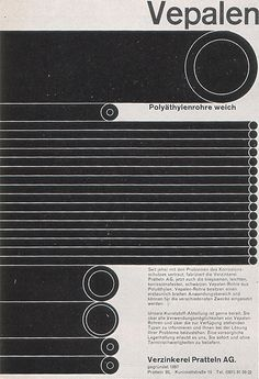 Thérèse Moll (Switzerland)  Pamphlet cover for Vepalen, Swiss galvanizing works, 1959  h/t The Nonist