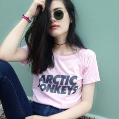 AM #pale -  grunge,  #black  #model -  #artic monkeys
