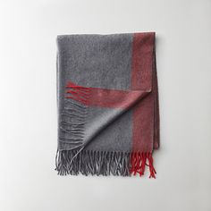 acne canada stripe scarf