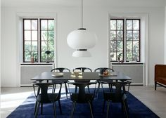 The Formakami pendant both gives light and appears light