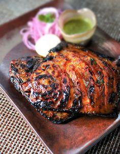 Prepare a delicious Tandoori Swordfish recipe with Urban Accents Punjab Red…