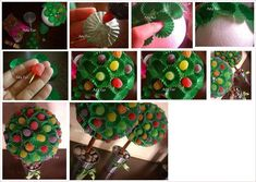 DIY Soft Candy Bouquet DIY Projects