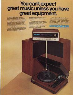 Pioneer Electronics Ad