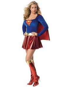 Supergirl Adult Womens Costume