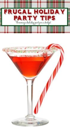How to Throw a Holiday party on a Budget - It's possible with these easy tips.