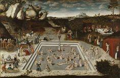 "speciesbarocus: "" Lucas Cranach the Elder - The Fountain of Youth (1546). """