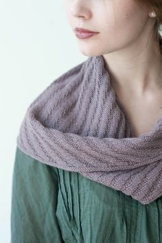 scarves, etc. 2014: hawserlaid by tess young / quince & co tern