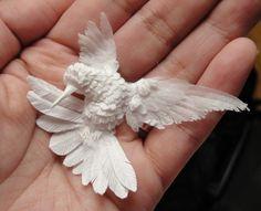paper hummingbirds