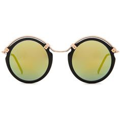 Spitfire A Teen ($39) ❤ liked on Polyvore featuring accessories, eyewear, sunglasses, glasses, metal frame sunglasses, spitfire sunglasses, metal frame glasses and spitfire glasses