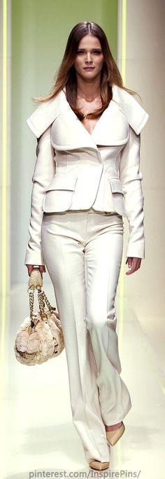 Versace at Milan Fashion Week Fall 2005