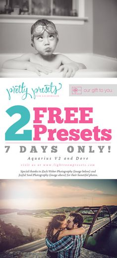 2 Free Pretty Presets for You! | Pretty Presets for Lightroom