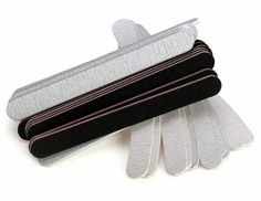 40 PCS Nail Art Sanding Block Manicure Tools UV Gel Set #Unbranded