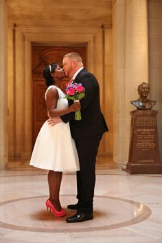 You'll Forget All About Fancy Weddings When You See This Couple's City Hall…